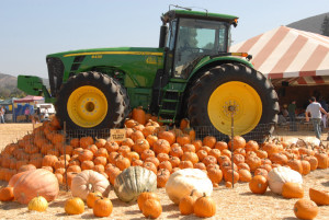 Tractor Underwood Farms