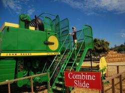 Tractor Slide Underwood Farms
